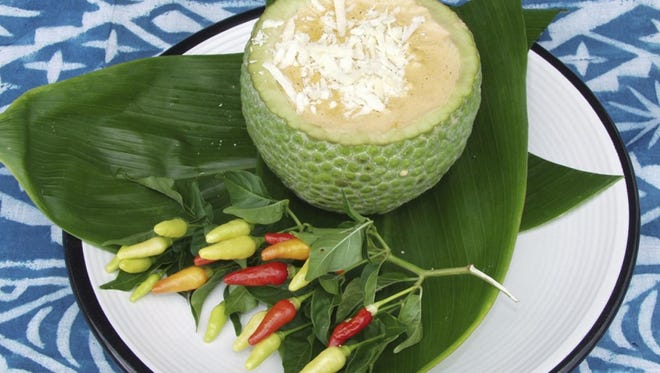 Breadfruit soup.