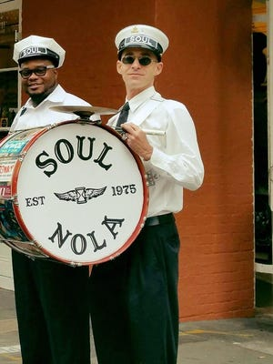 Members of the Soul Brass Band.