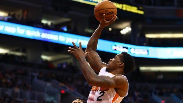 Feb 15, 2017: Phoenix Suns guard Eric Bledsoe (2) against