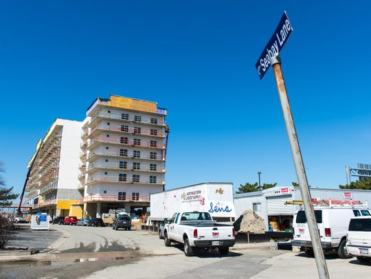 Construction of Residence Inn – Marriott in Ocean City