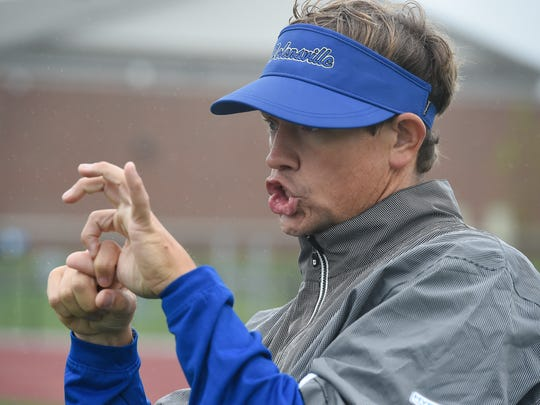 Nolensville football coach Will Hester's diet is currently a little more than 500 calories a day.