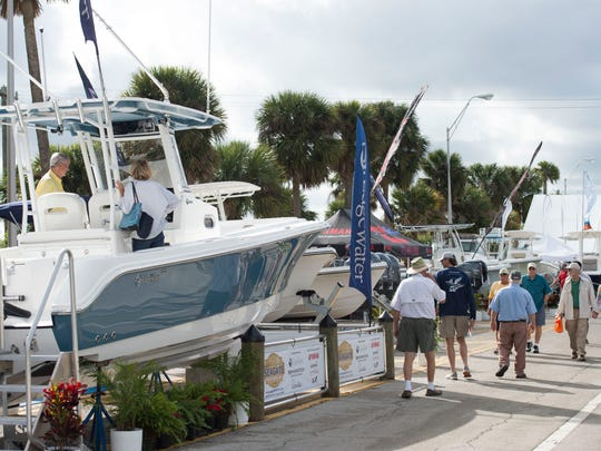 The 45th annual Stuart Boat Show begins Friday, Jan. 11, 2019 along Old Dixie Highway in Stuart. The show features over 200 exhibitors selling boats, accessories, clothing, jewelry, fishing gear and more. The show continues 10 a.m. to 6 p.m. Saturday and 10 a.m. to 5 p.m. Sunday. For more information, go to stuartboatshow.com.