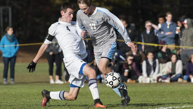 South Burlington's Patrick O'Hara (17) scored 19 goals and handed out 15 assists in 2016.