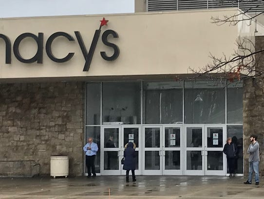 A power outage Friday forced the closure of Macy's