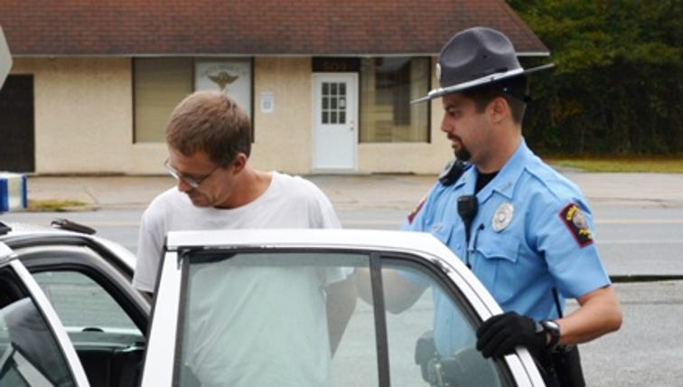 Camden County Sheriff's Office arresting one of 14