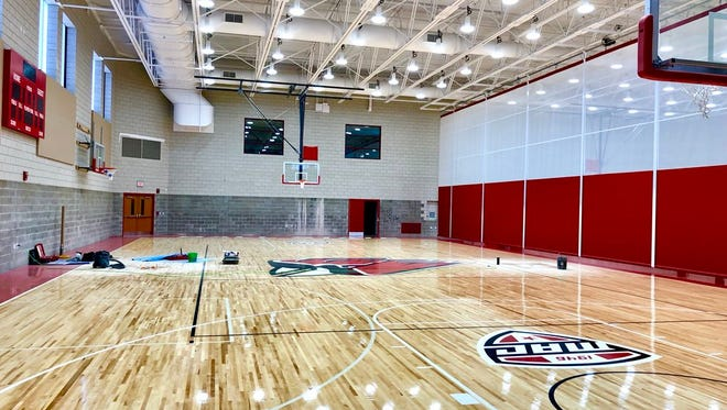 The new Dr. Don Shondell Practice Center at Ball State.