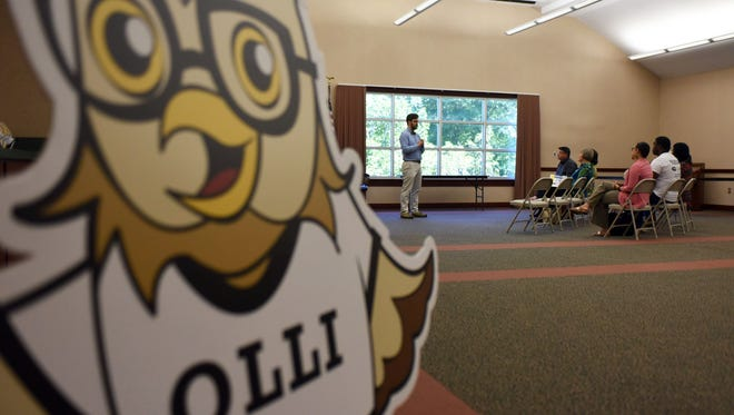 OLLI has a presence at colleges and universities nationwide, as seen in this photo from the University of Southern Mississippi.
