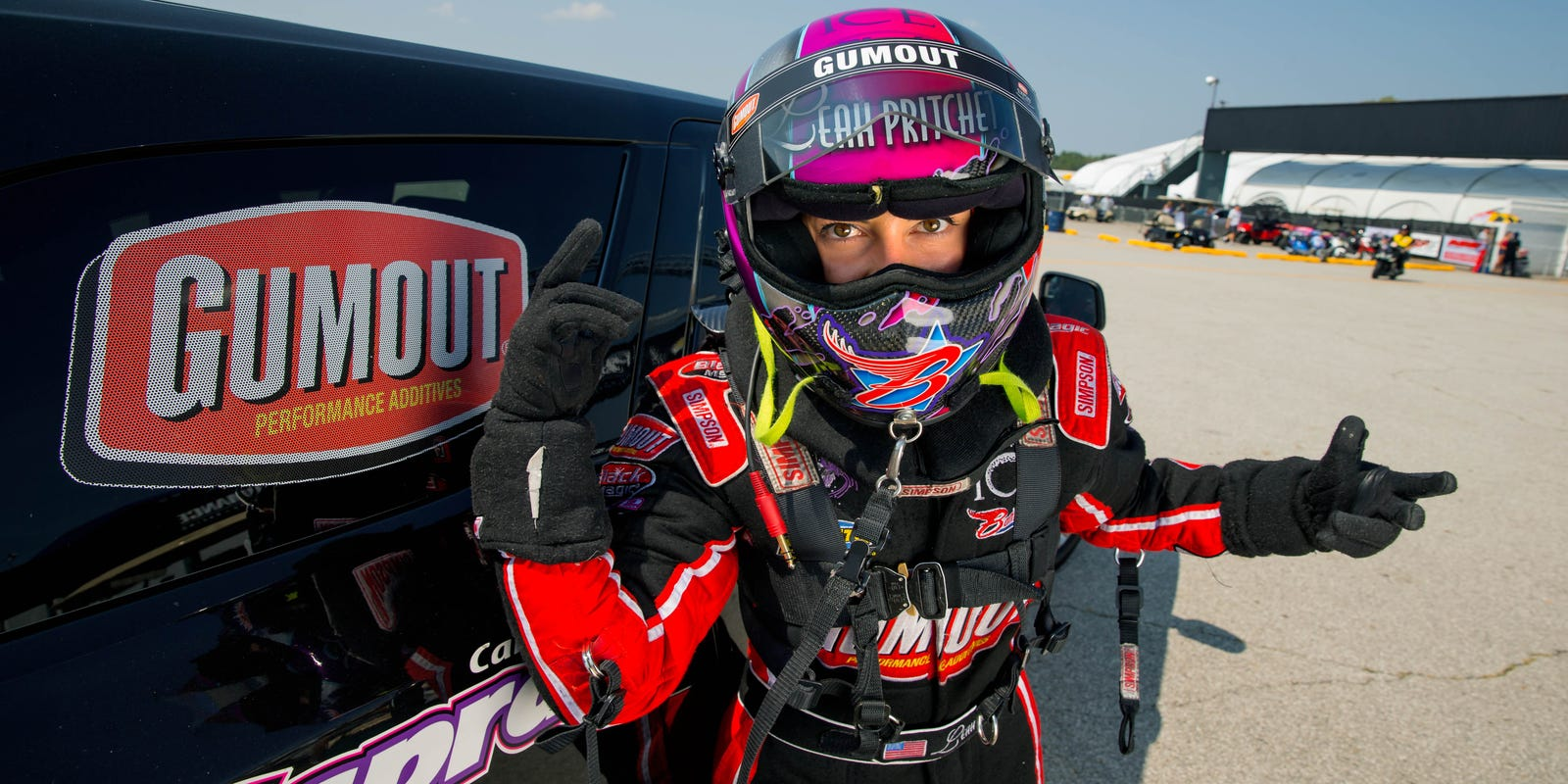 Leah Pritchett embraces life as role model, Top Fuel driver