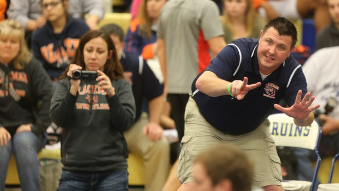 Blackman coach Ronnie Bray was named The Daily News Journal's Wrestling Coach of the Year.