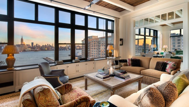 Eli Manning's Hoboken condo is available to rent.