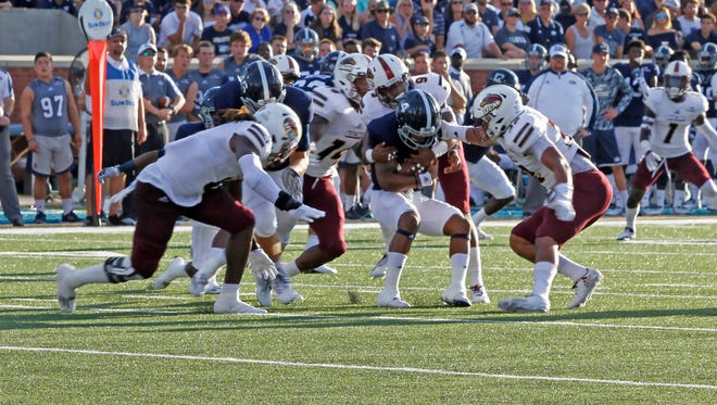 Georgia Southern took its first lead in the third quarter and moved to 5-2 all-time against ULM.