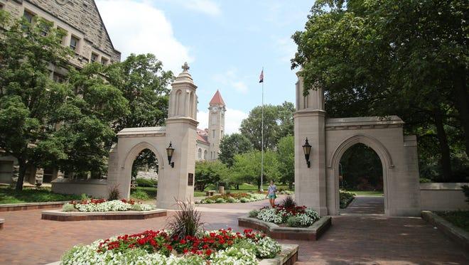 Gates at Indiana University Bloomington.