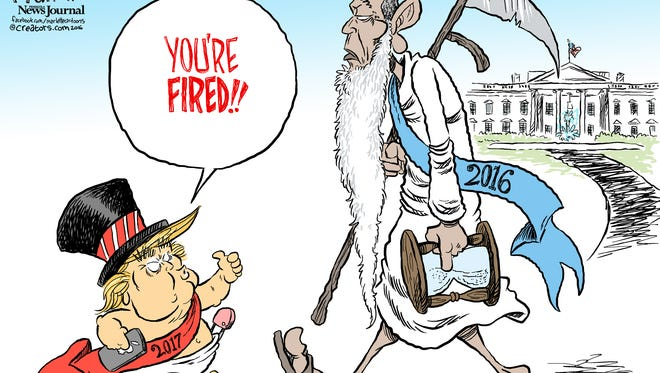 New Year Baby commentary by Andy Marlette