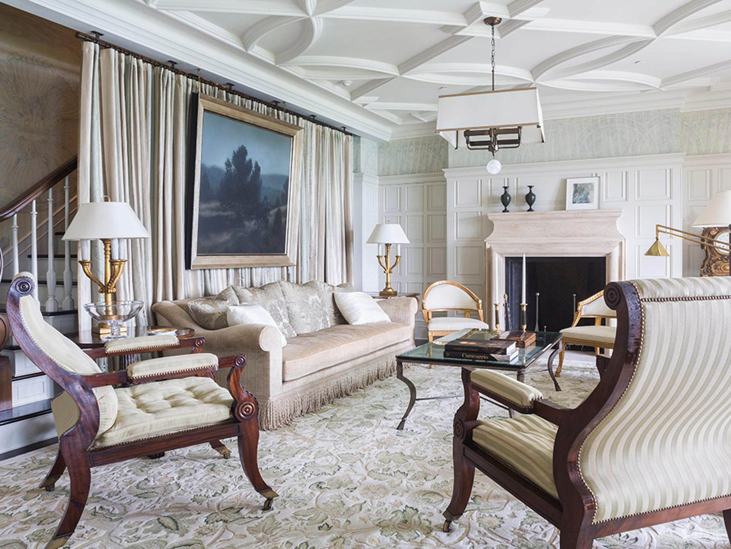 Every room is finely crafted and detailed in the Weitsman