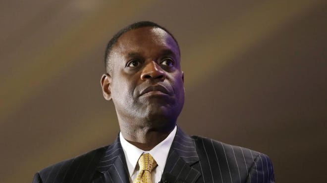 "Detroit emergency manager Kevyn Orr says ""Detroit continues to make steady progress in returning to firm financial footing and becoming an attractive place to invest once again."""