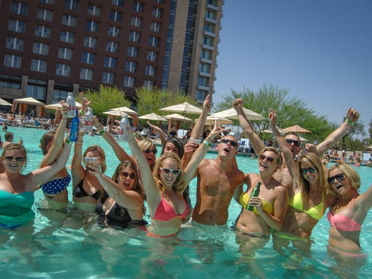 Release Pool Party at Talking Stick