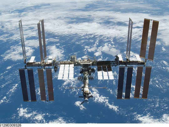 International Space Station is the largest human-made