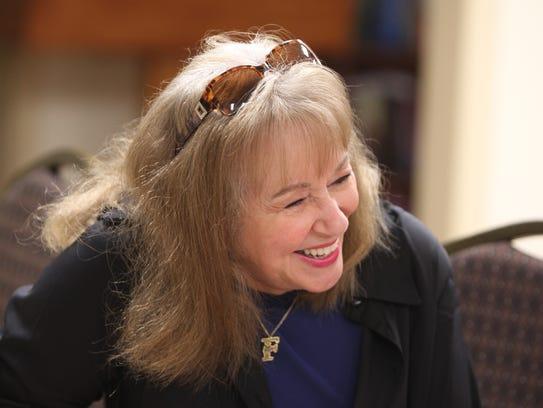 Frances Brandler, executive vice president of Congregation