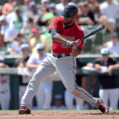 The Minnesota Twins announced Tuesday that outfielder