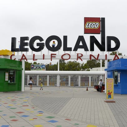 Legoland's California theme park is shown in this file