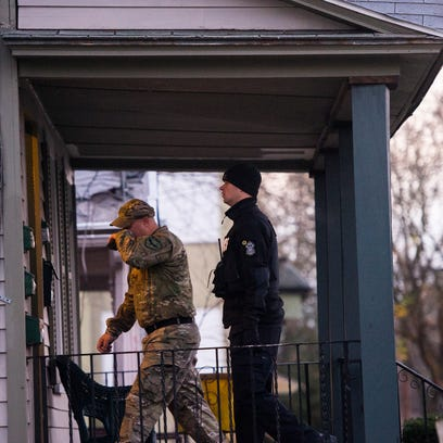 Police raid one of 12 locations in Binghamton and Johnson