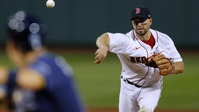 While Boston Red Sox catcher Kevin Plawecki famously made an appearance on the mound in game against Tampa two weeks ago, he's having a good season at the plate for the Sox - when he gets the chance.