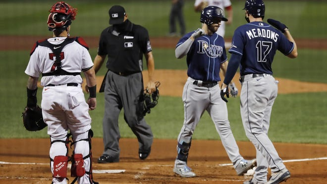 The Rays hammered the Red Sox last week, but the only choice is to keep moving forward.