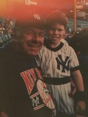 Joe Truscello poses with his grandson, Joseph Truscello,