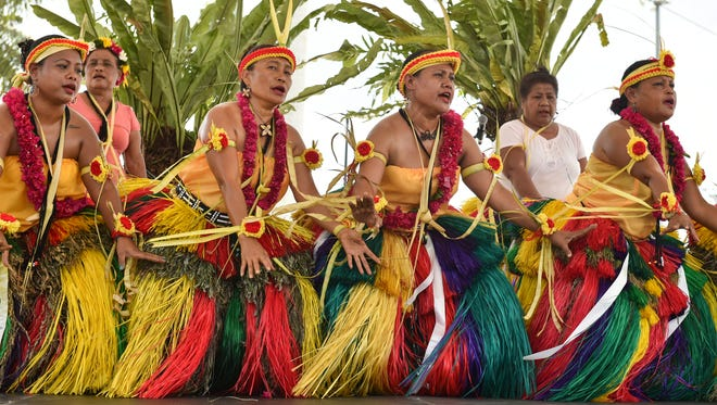 In this file photo, Yap performs during the 29th Annual Guam Micronesia Island Fair at Paseo De Susana Park in Hagåtña.