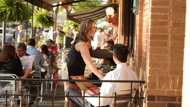 More than 70 restaurants line the streets of Royal Oak's downtown area.