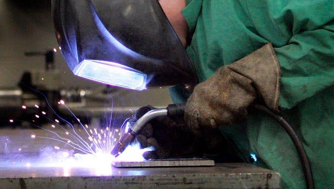 Fox Valley Technical College offers a welding program.