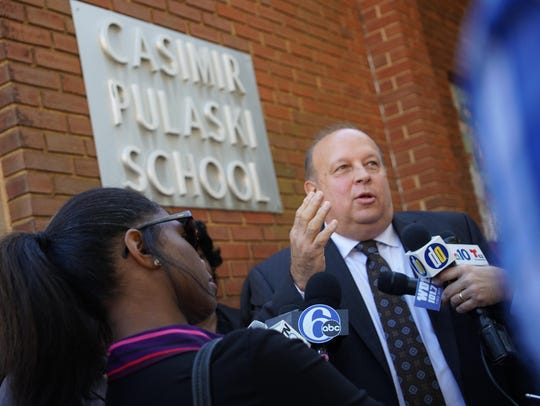 Robert Andrzejewski, acting superintendent for the