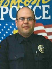 Oshkosh Police Officer Aaron Achterberg