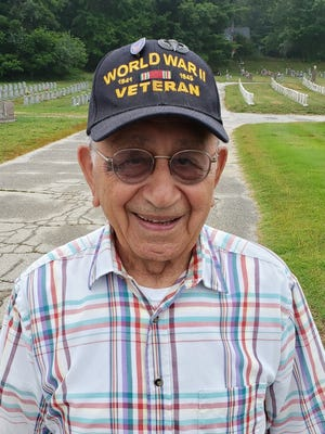 Victor Lippiello, of Putnam, who was a paratrooper in WWII, is turning 100 on Thursday.