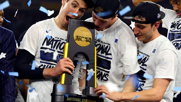 The last 25 NCAA tournament champions, ranked
