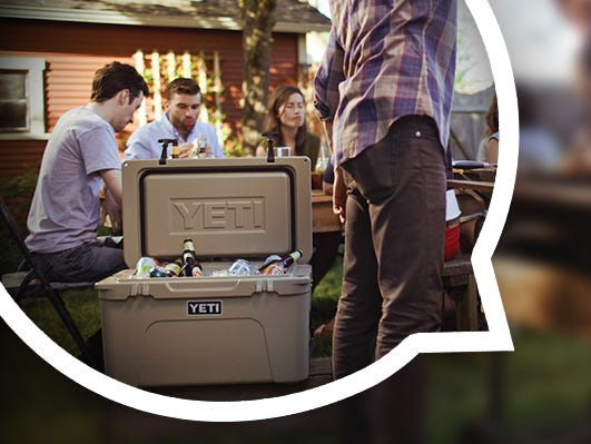Enter in to win a YETI cooler & stay cool this summer. Entries accepted from 6/1-6/30.