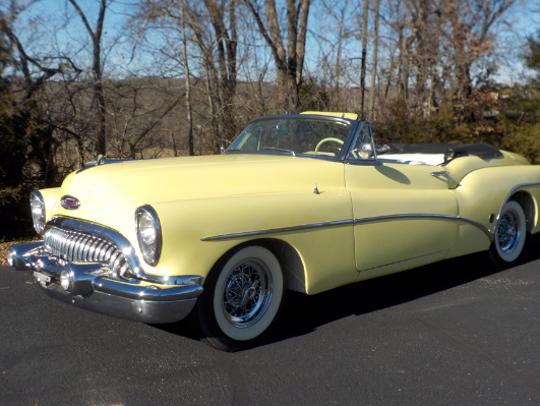 1953 Buick Skylark convertible.