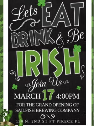 Downtown Fort Pierce is the place to be this St. Patrick's Day as Sailfish Brewing Company along with 2nd Street Bistro are throwing on heck of a shindig.