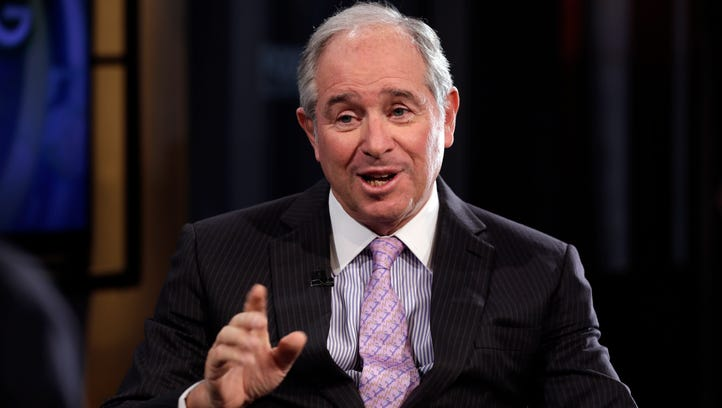 File photo taken in 2014 shows Blackstone Group CEO