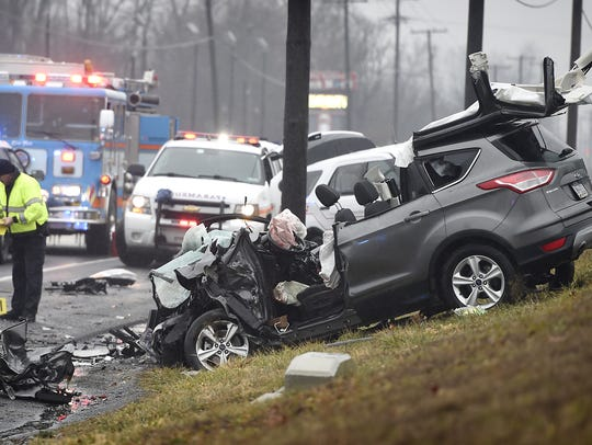 Two people died in this accident on Jan. 20 at E. Cumberland