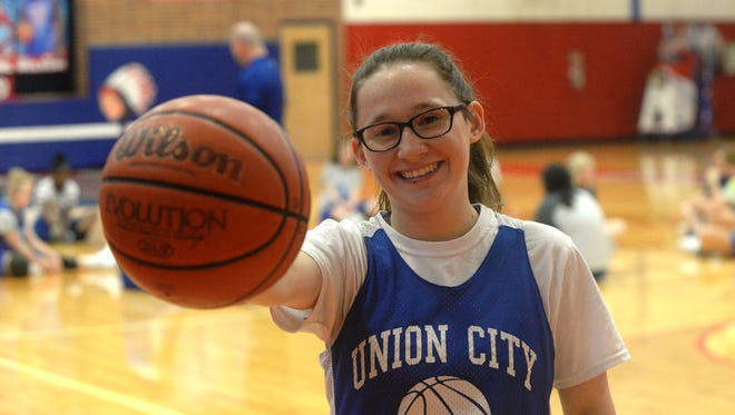 Justiss Cantu, Union City girls basketball, was the 2016-17 All-Area girls basketball Player of the Year
