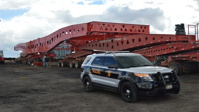 The New Mexico Department of Transportation is advising drivers to be on the lookout for the heaviest load ever to be transported on New Mexico public roads as it is moved through the Four Corners area to Monticello, Utah.