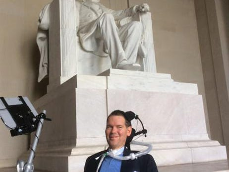 Steve Gleason attends State of the Union Address