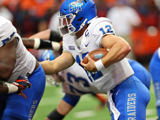 Brent Stockstill runs against Syracuse