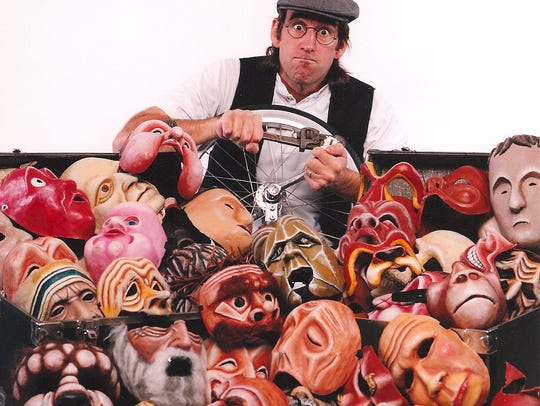 Doug Berky  is a storyteller, mask and costume designer,