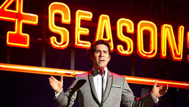John Lloyd Young stars as Frankie Valli in the musical 'Jersey Boys,' from director Clint Eastwood.
