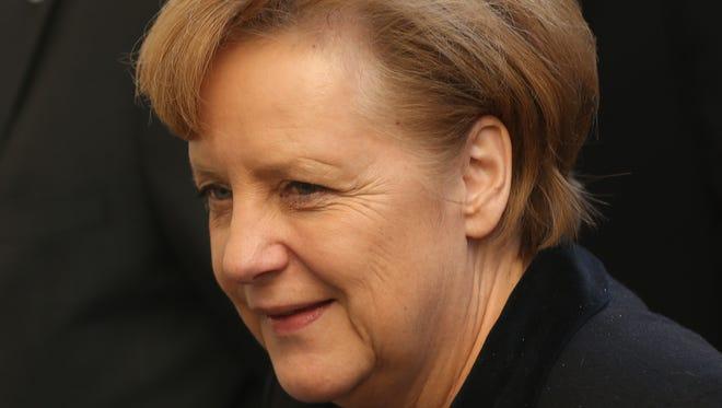 German chancellor and chairwoman of the German Christian Democrats (CDU) Angela Merkel.