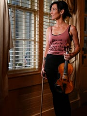 """Amanda Shires will play the Ryman Auditorium in Nashville on Aug. 12. Her new album is """"To the Sunset."""""""