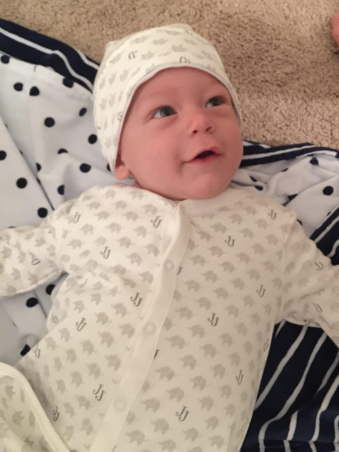"""Baby Em"" Kampen died Feb. 1 due to Leigh's Disease,"