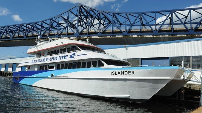 The Block Island ferry, which has been making summer runs from Fall River since 2014, will be delayed this year, likely not starting up again until August due to the pandemic.